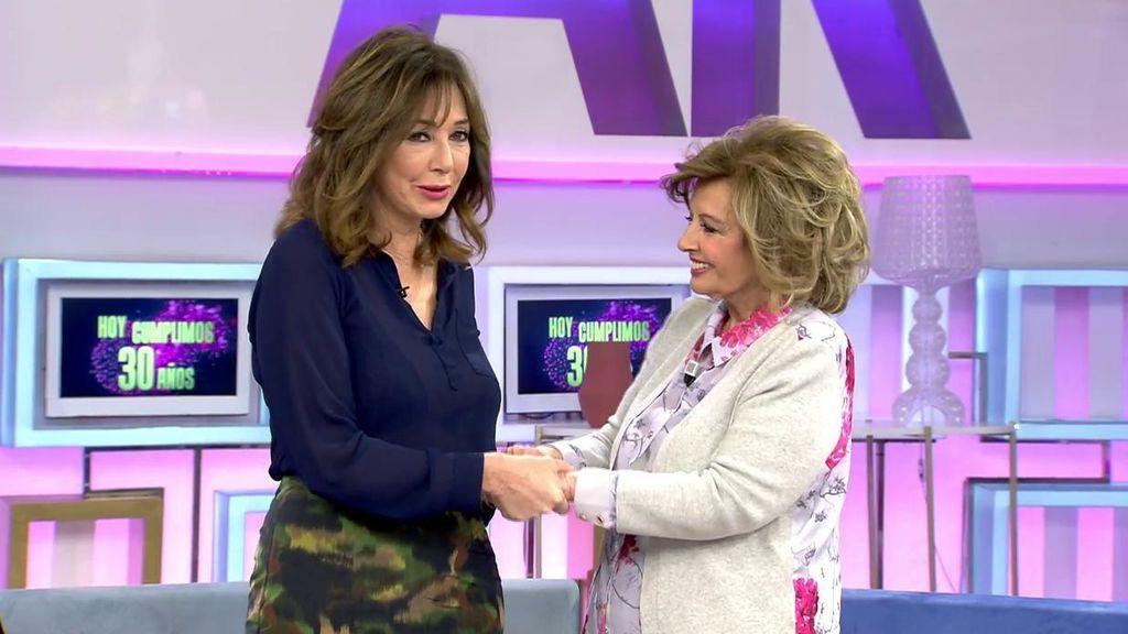 """María Teresa Campos, a Ana Rosa: """"Te quiero, te respeto y te admiro"""""""
