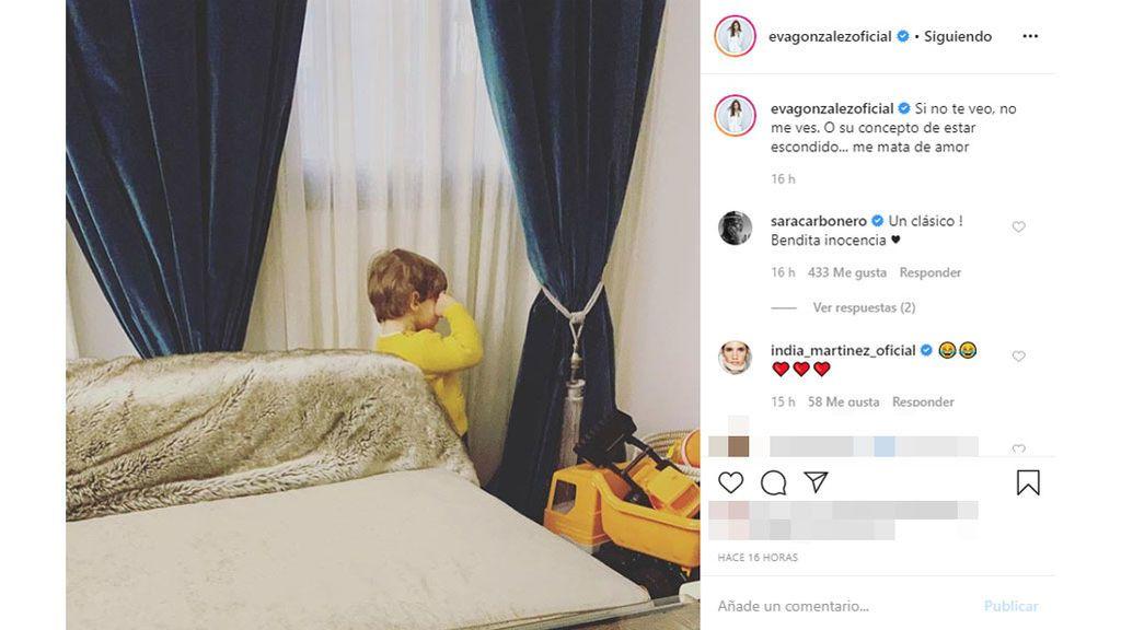 La inocencia del hijo de Eva González y Cayetano Rivera