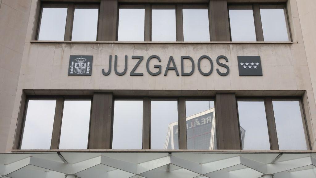 Suspenden la actividad en el Juzgado de Instrucción 9 de Plaza de Castilla por  miedo al coronavirus
