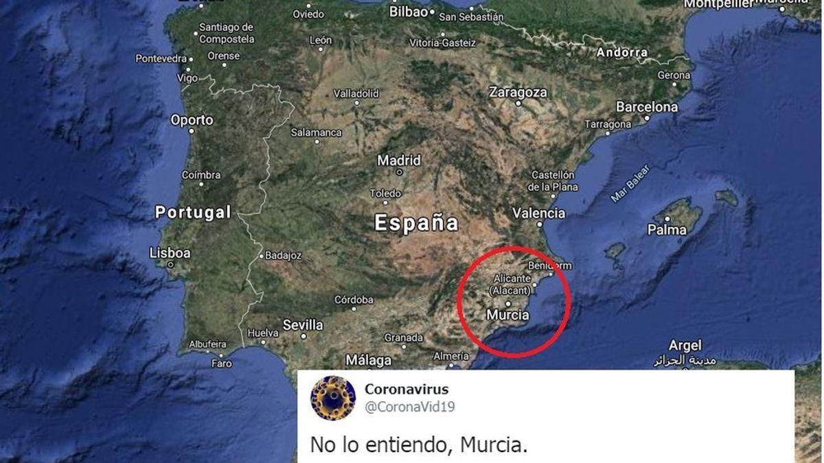 Murcia, inmune al coronavirus: todos los memes que dan las razones
