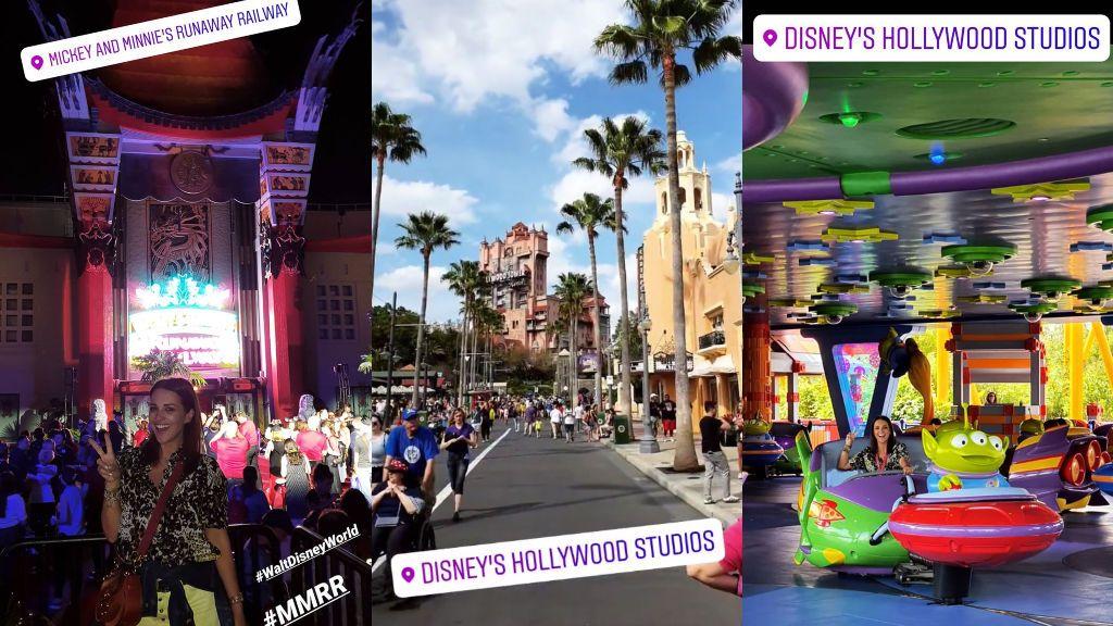 Paula Echevarría posa en Disney World