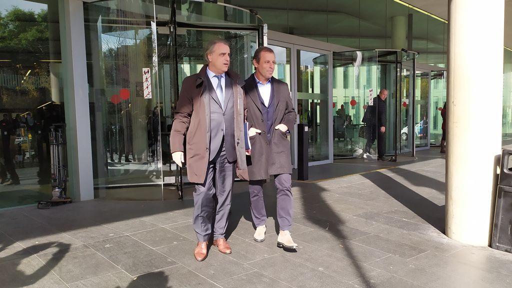 El expresidente del Barcelona, Sandro Rosell, se querella contra la jueza Lamela
