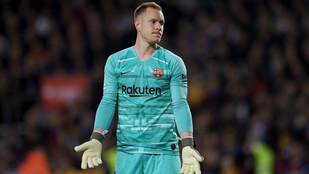 Ter Stegen medita su futuro en el Barça y rechaza varios proyectos culés para el próximo año