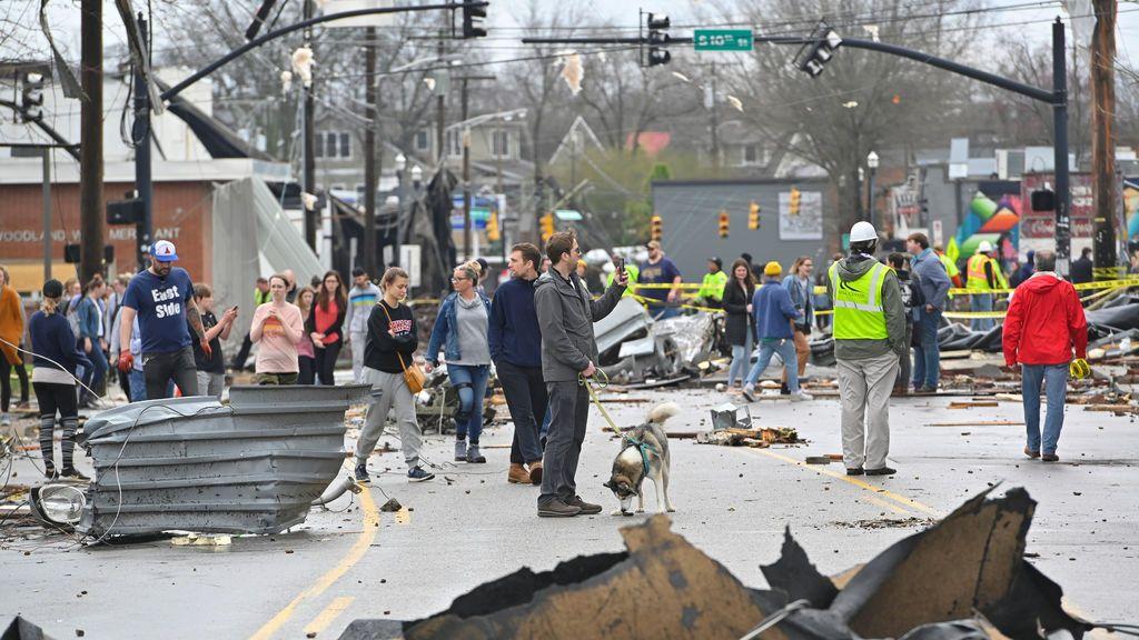 """La temporada de tornados se adelanta en la ciudad natal de Miley Cyrus: """"Cuánto daño están haciendo"""""""