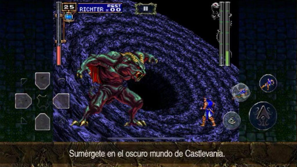 Castlevania: Symphony of the Night en móviles