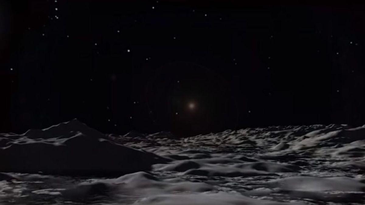 Los 50 años de la NASA: el vídeo que muestra la Luna de cerca