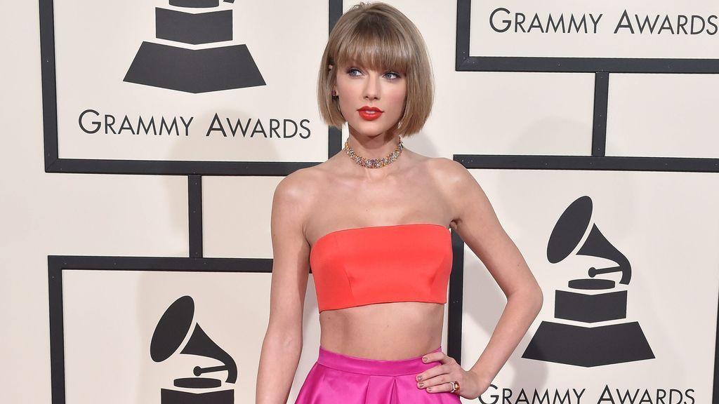 Taylor Swift, en la gala de los Premios Grammy.