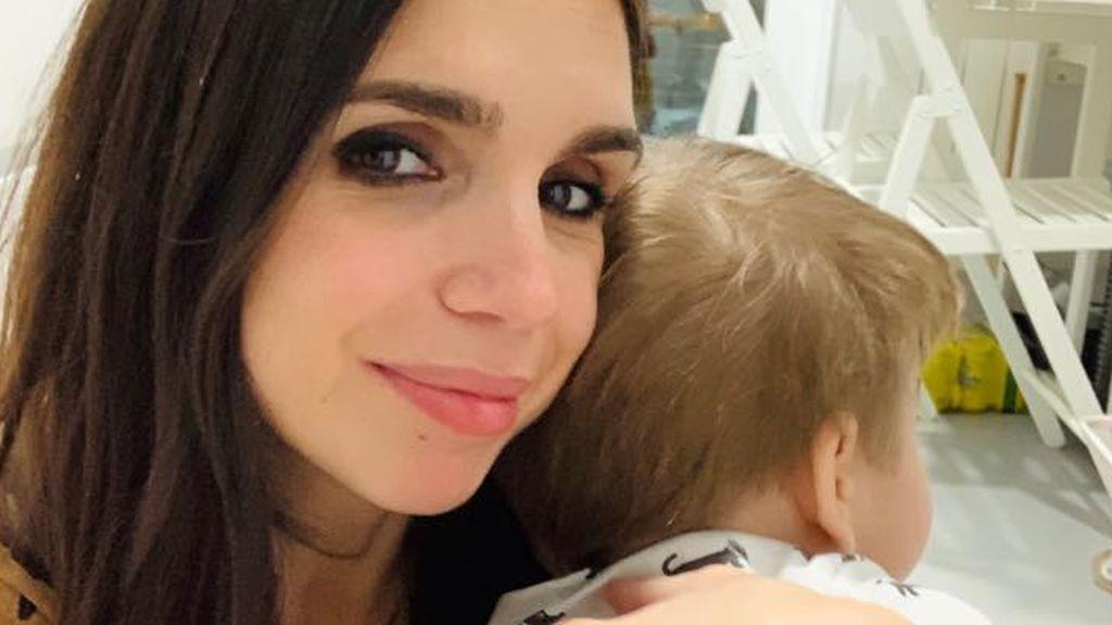 """El hijo de Elena Furiase hereda el carácter de los Flores: """"No te pongas nervioso"""""""