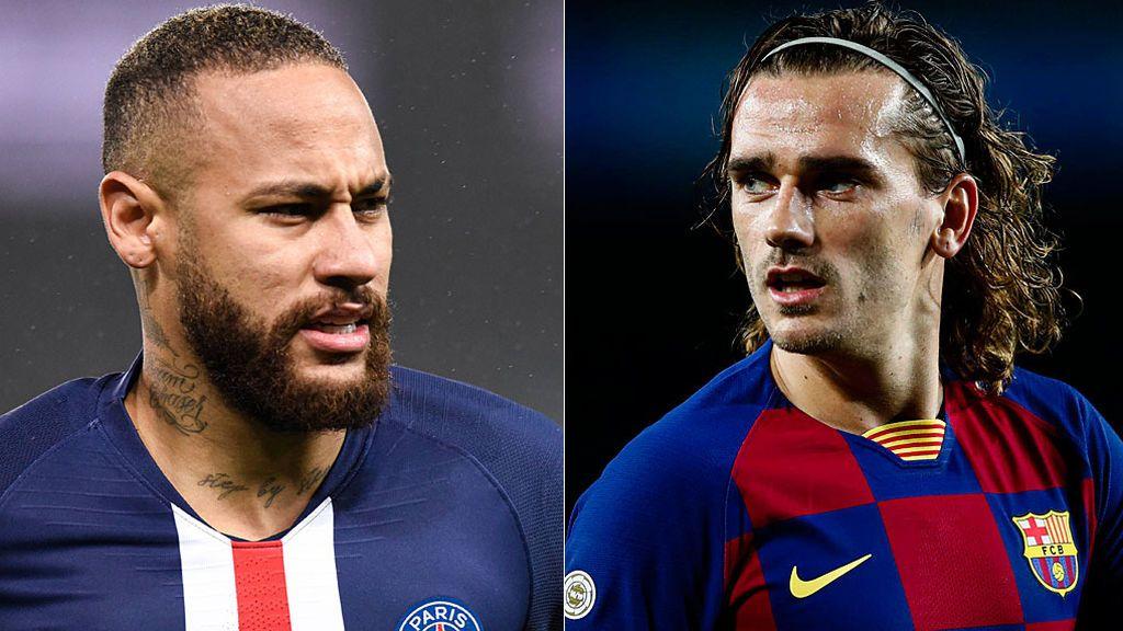 Parte de la directiva del Barça ve con buenos ojos intercambiar a Griezmann por Neymar