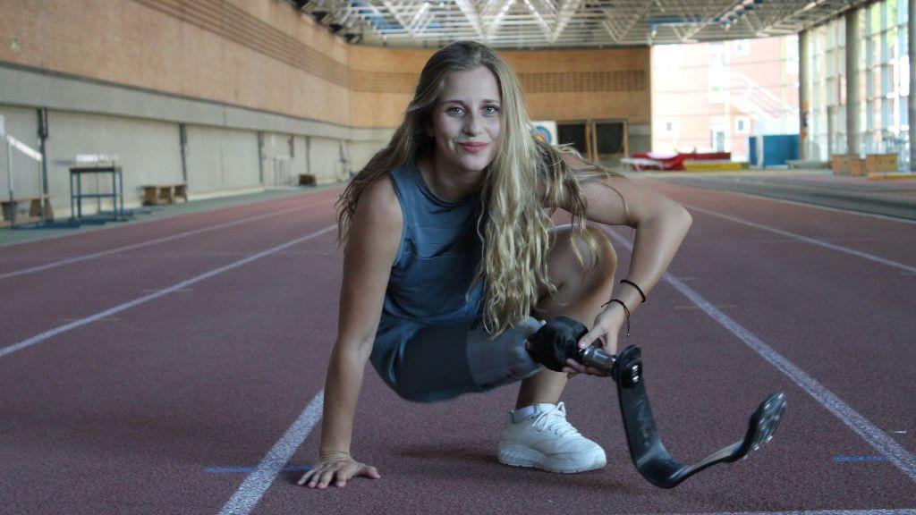 La deportista gallega entrena tres horas al día en un Centro de Alto Rendimiento de Madrid