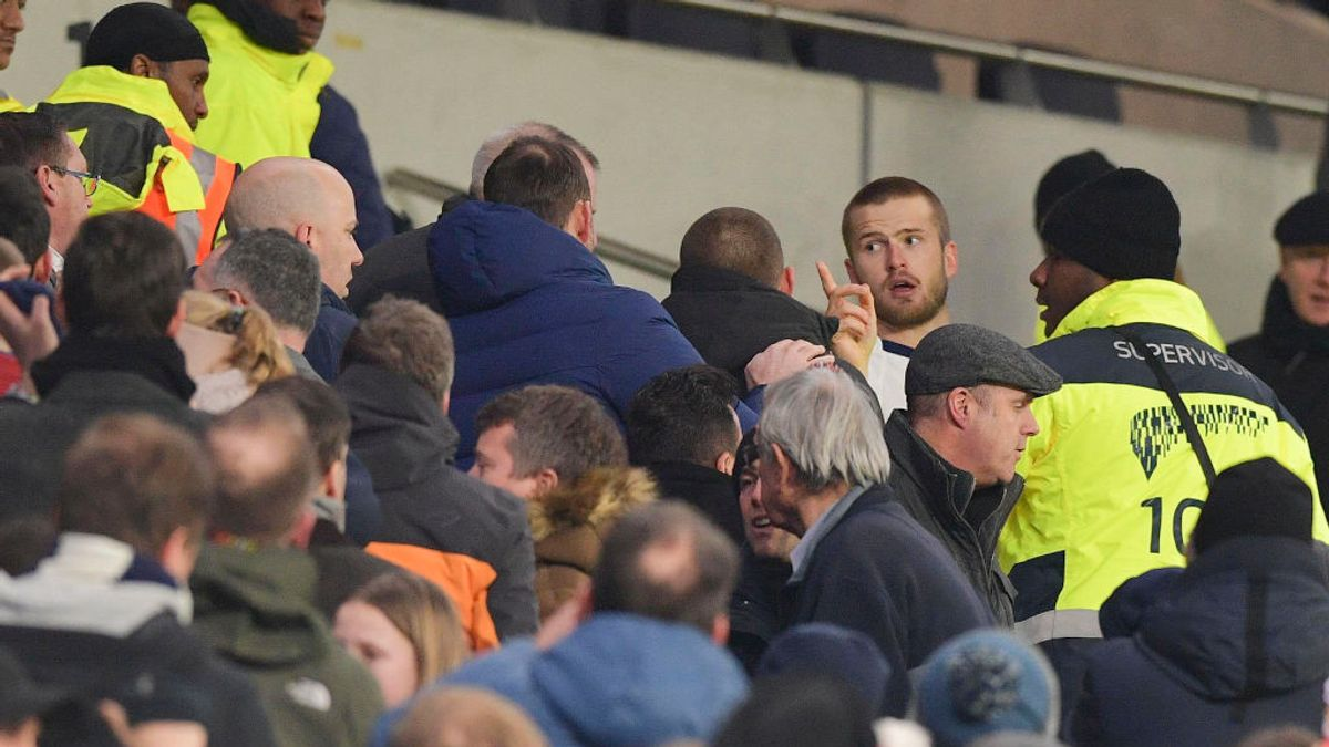 El futbolista Eric Dier se pelea con sus propios aficionados del Tottenham por insultar a su hermano