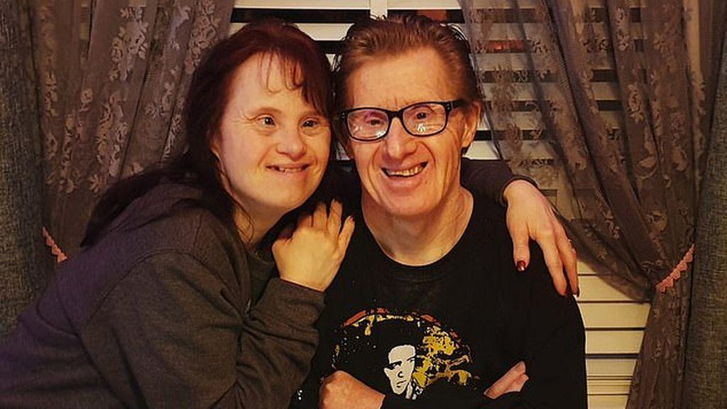 El matrimonio con Síndrome de Down más largo del mundo: los Pilling celebran 25 años casados