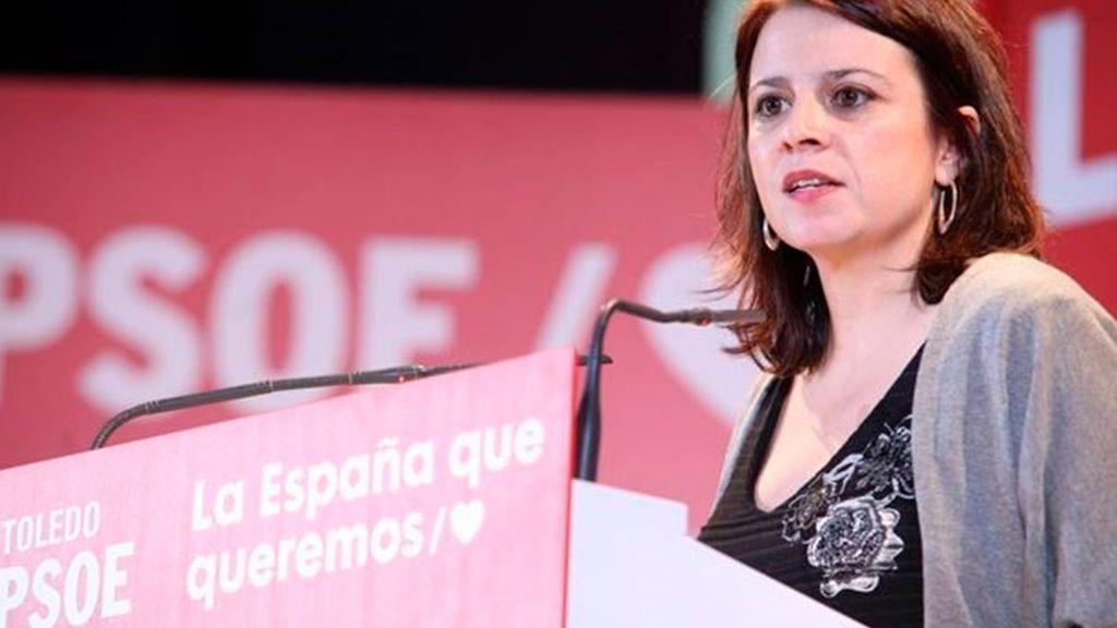Adriana Lastra, en contra de abrir una comisión de investigación sobre el rey emérito
