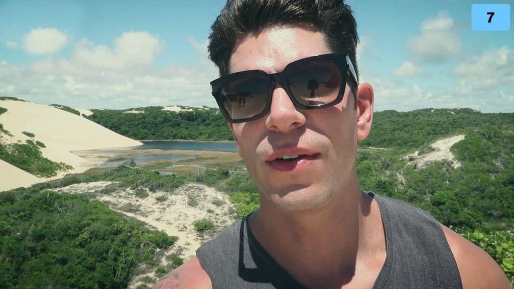 Diego se acuerda de Estela Grande durante su viaje a Brasil (2/2)