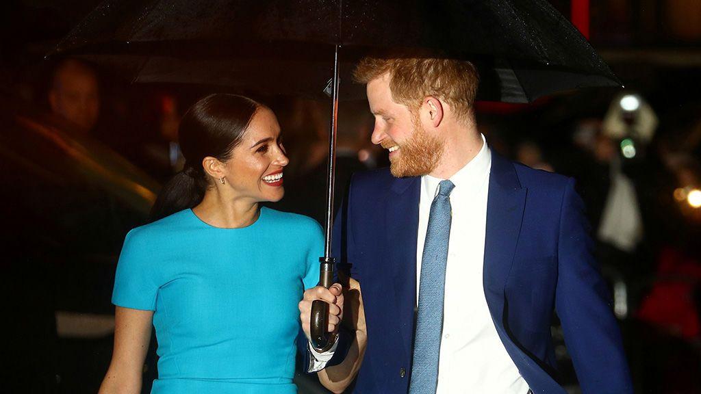 Harry y Meghan reaparecen en Londres