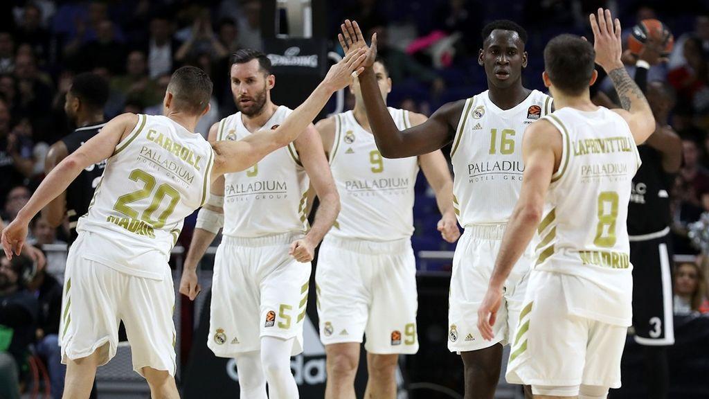 El Madrid vence al Villeurbanne y apunta al conseguir el factor cancha en 'playoffs'