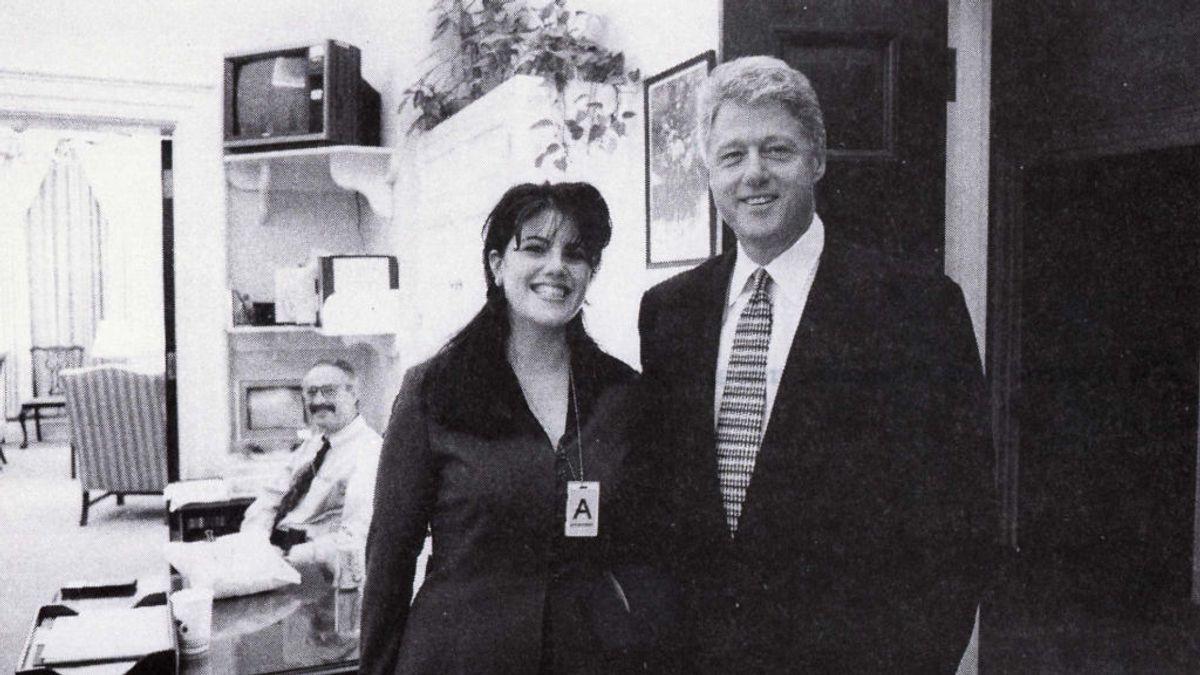 """Bill Clinton justifica ahora su escándalo sexual con Monica Lewinsky: """"Fue para gestionar mi ansiedad"""""""