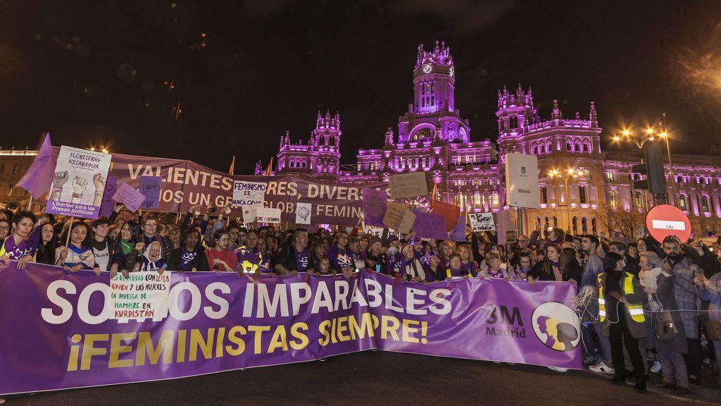 manifestación 8m Madrid 2019