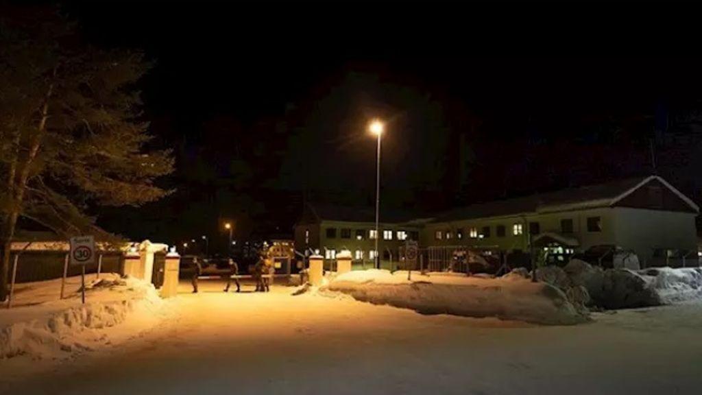 Base del Ejército noruego en cuarentena