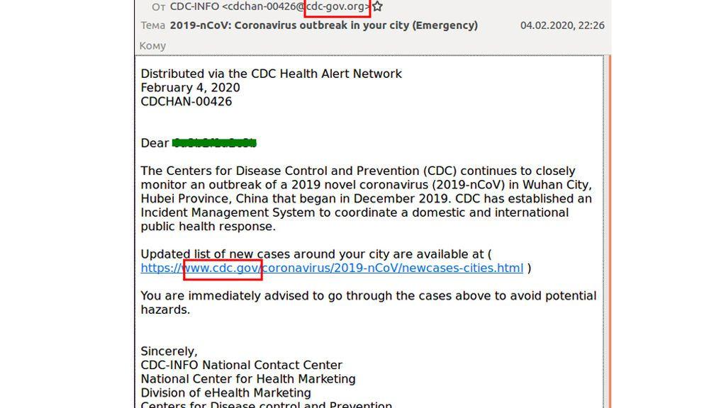 Pishing CDC