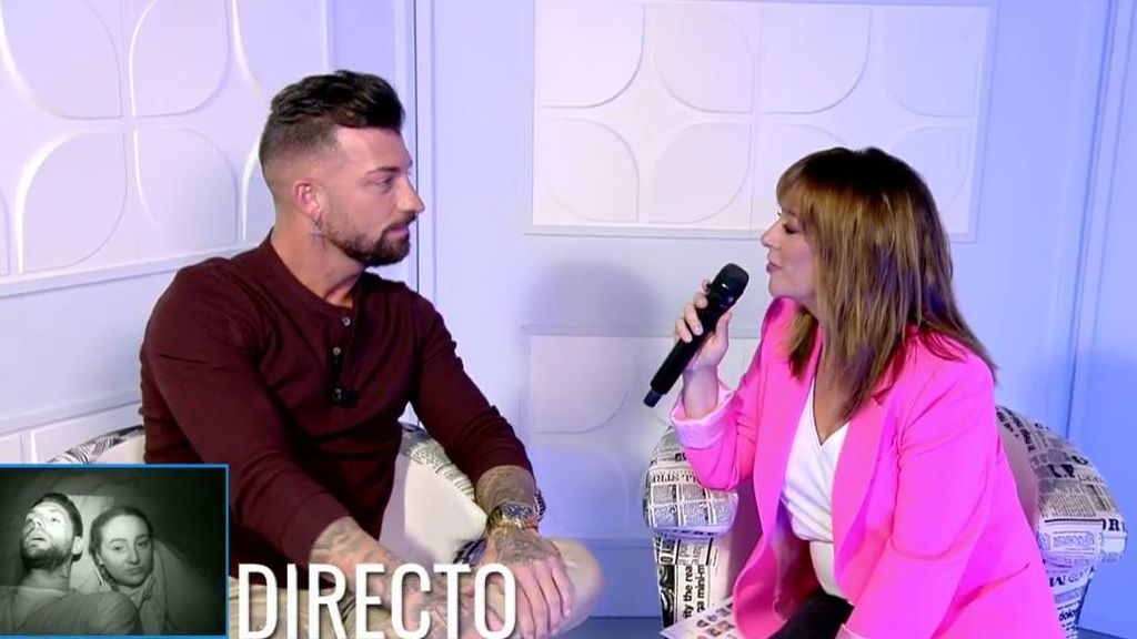 El tonteo de Toñi Moreno con Rubén