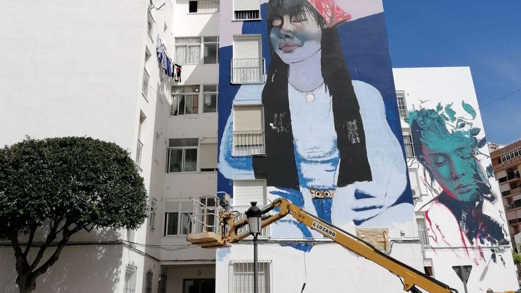 60 nuevos murales se están pintando durante estos días en Estepona