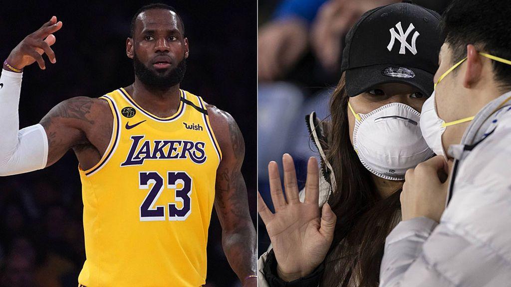 """LeBron James planta cara a las medidas en el deporte contra el coronavirus: """"Si no hay público no voy a jugar"""""""