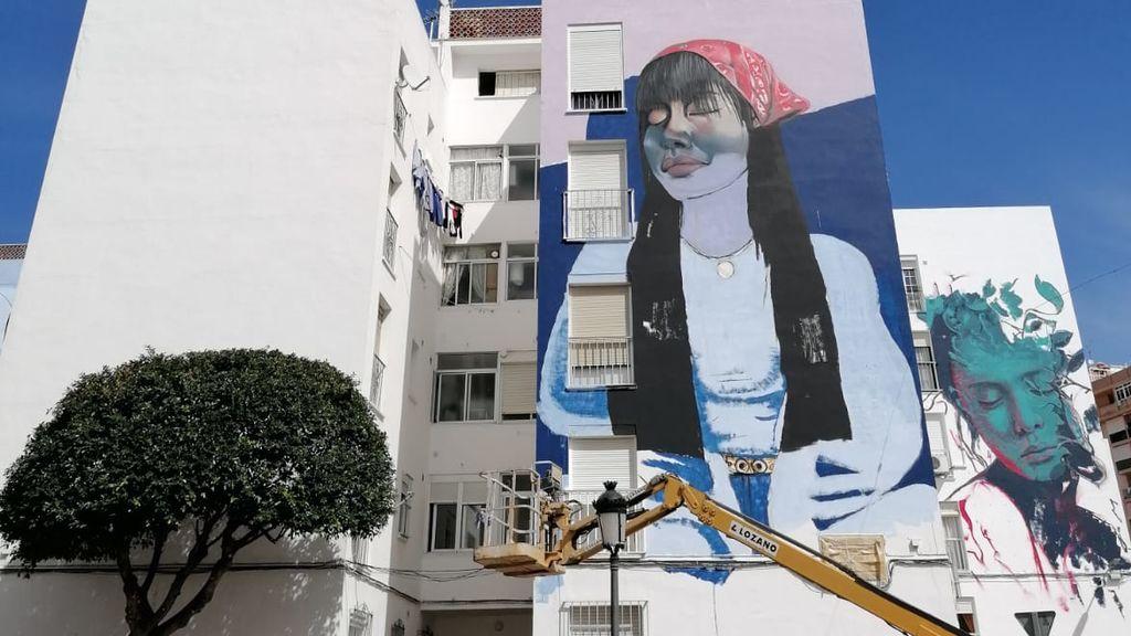 Comienza el concurso de murales artísticos de Estepona con el desarrollo de 60 nuevas obras