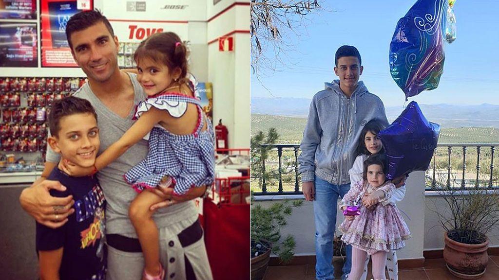 """La familia de José Antonio Reyes se une para celebrar el tercer cumpleaños de Triana, la hija mayor del futbolista: """"Nunca te faltará el amor"""""""