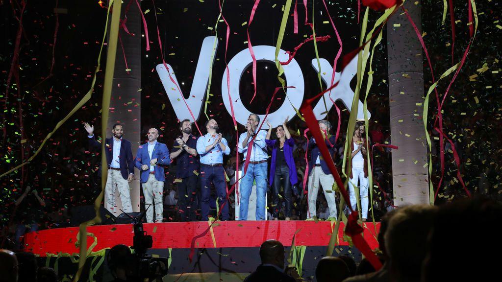 Vox celebra el mitin de su Congreso Nacional en Vistalegre a pesar del coronavirus