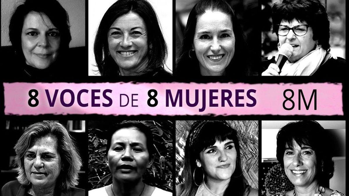 8M: empresarias, científicas, mujeres con discapacidad, mayores o refugiadas visibilizan su historia