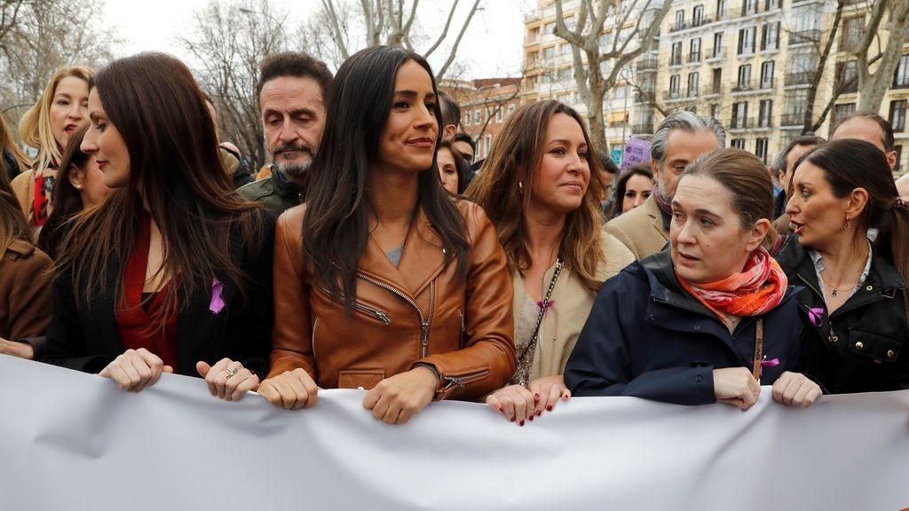 Manifestación por el Día Internacional de la Mujer, en imágenes