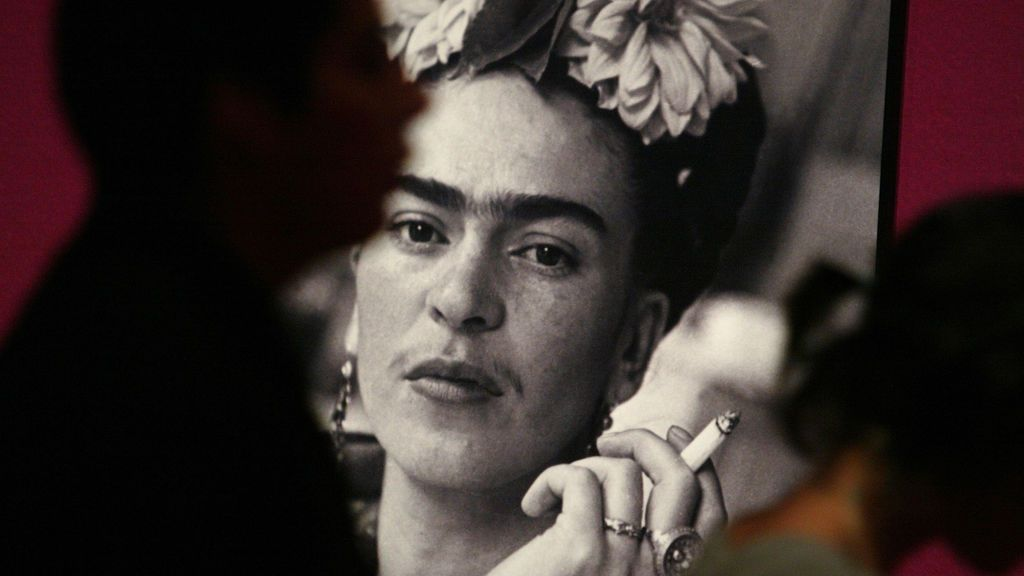 Retrato de Frida Kahlo