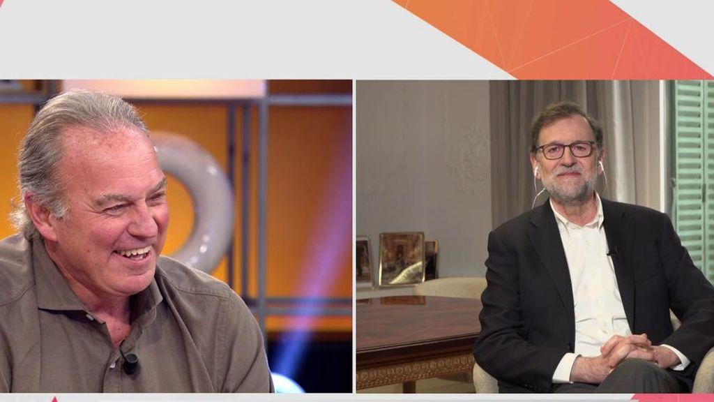 Mariano Rajoy, en Viva la vida