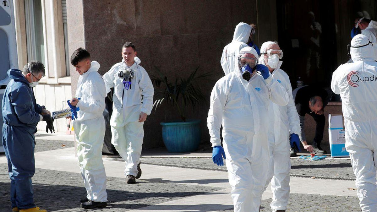 Se dispara la cifra de muertos por coronavirus en Italia: ya son 366 muertos, 133 más en un día