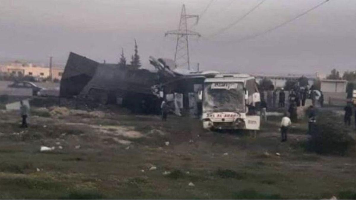 Al menos 32 muertos y 70 heridos en un accidente de tráfico cerca de Damasco