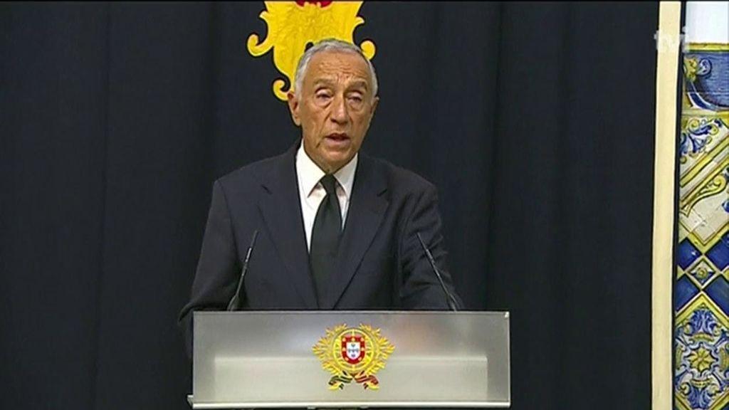 """El presidente de Portugal, en """"aislamiento voluntario"""" por posible coronavirus"""