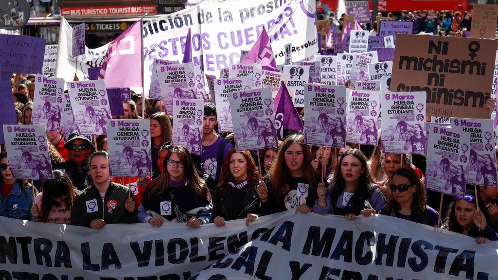 Última hora del Día Internacional de la Mujer: Una veintena de manifestaciones convocadas por toda España