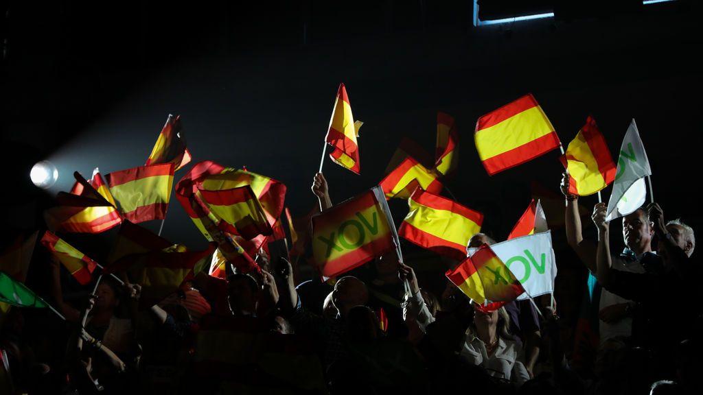 Vox mantiene su multitudinario mitin en Madrid a pesar de la amenaza del coronavirus