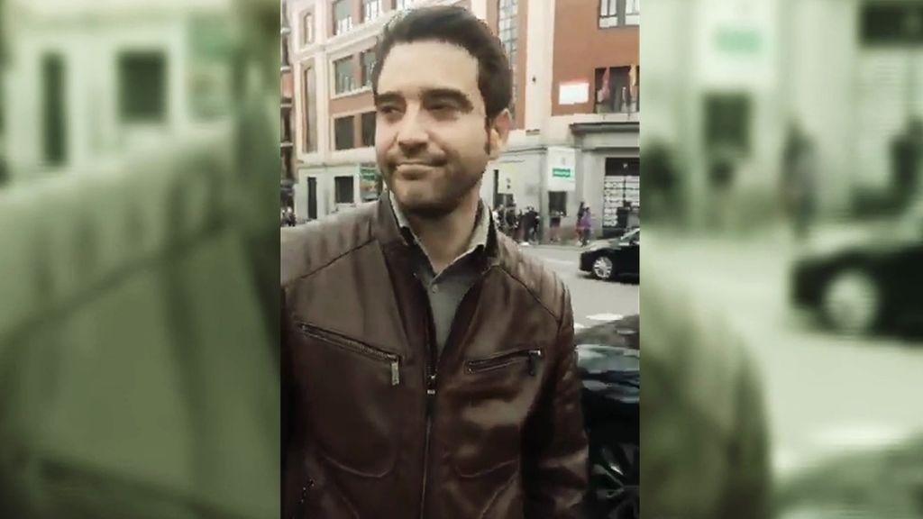 Javier Negre, increpado en la manifestación del 8M