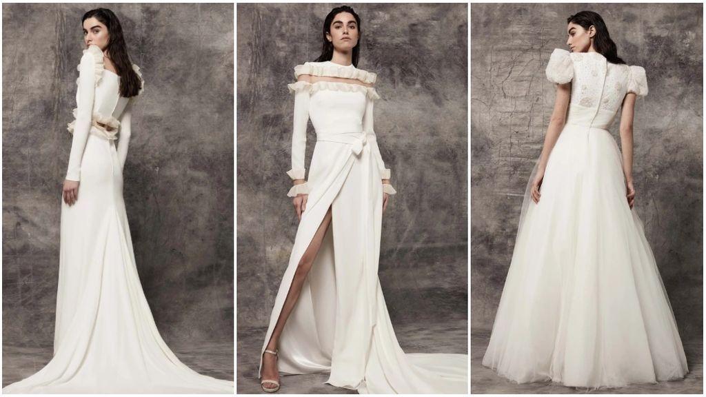 Los vestidos de Victoria Colección.