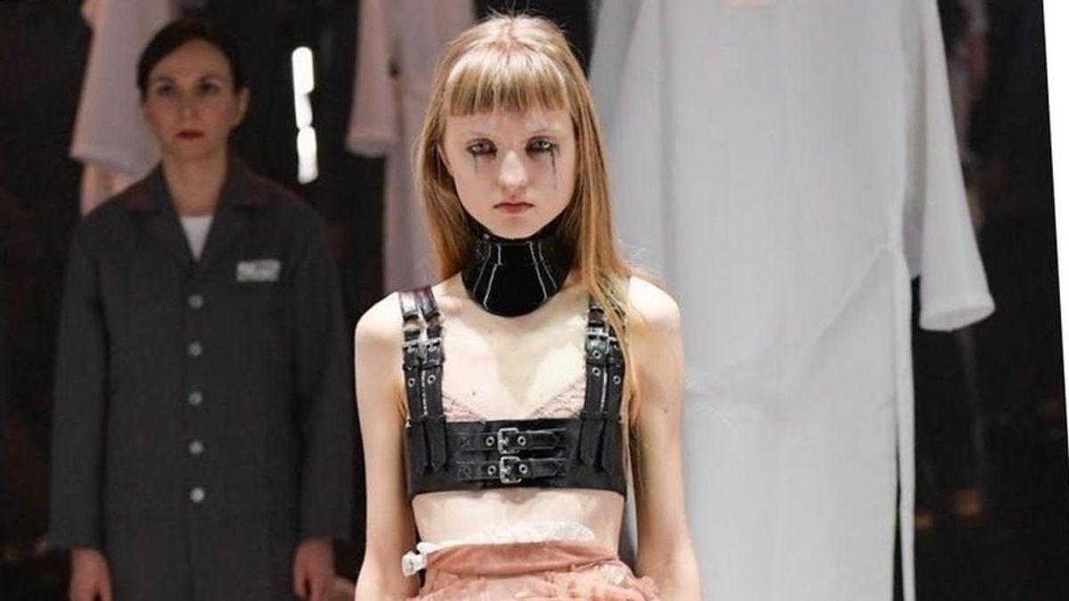 Una recogida de firmas denuncia la extrema delgadez de las modelos en la pasarela de Milán