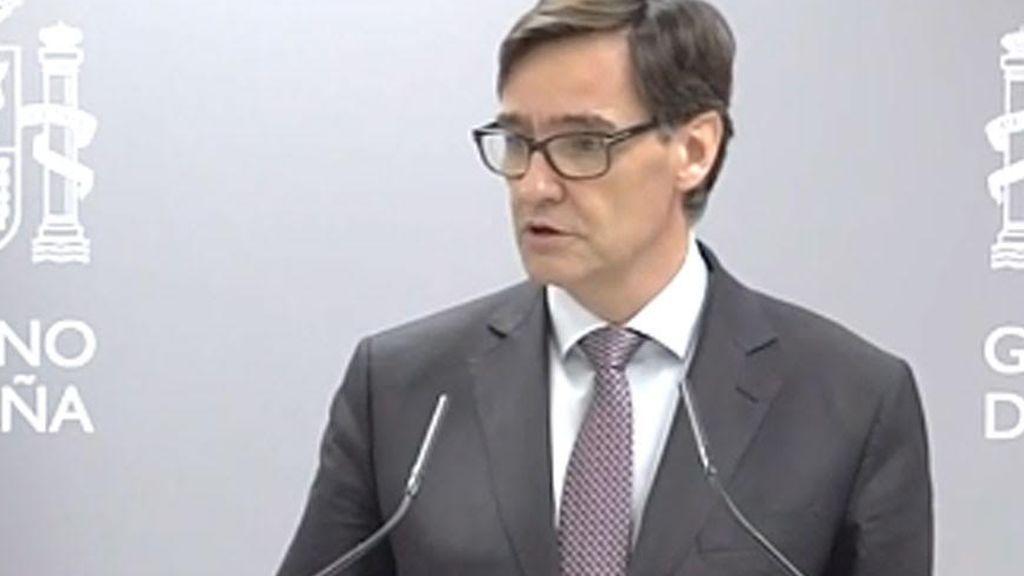 Salvador Illa establece la contención reforzada en Madrid, Vitoria y Labastida