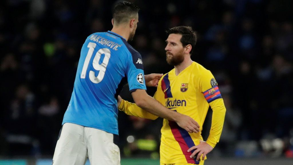 La Generalitat quiere que el Barça - Nápoles se juegue a puerta cerrada