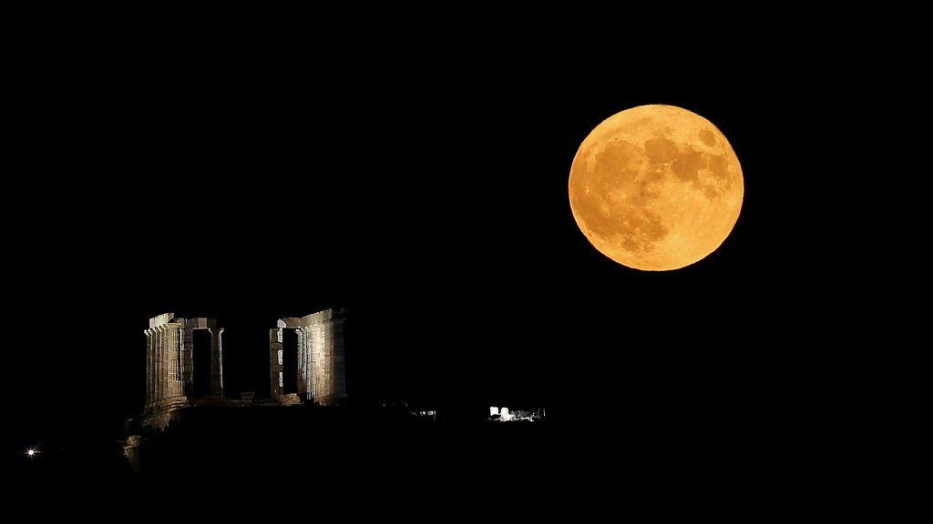 Superluna de marzo: las zonas donde podrá verse en España la 'Luna llena del gusano'