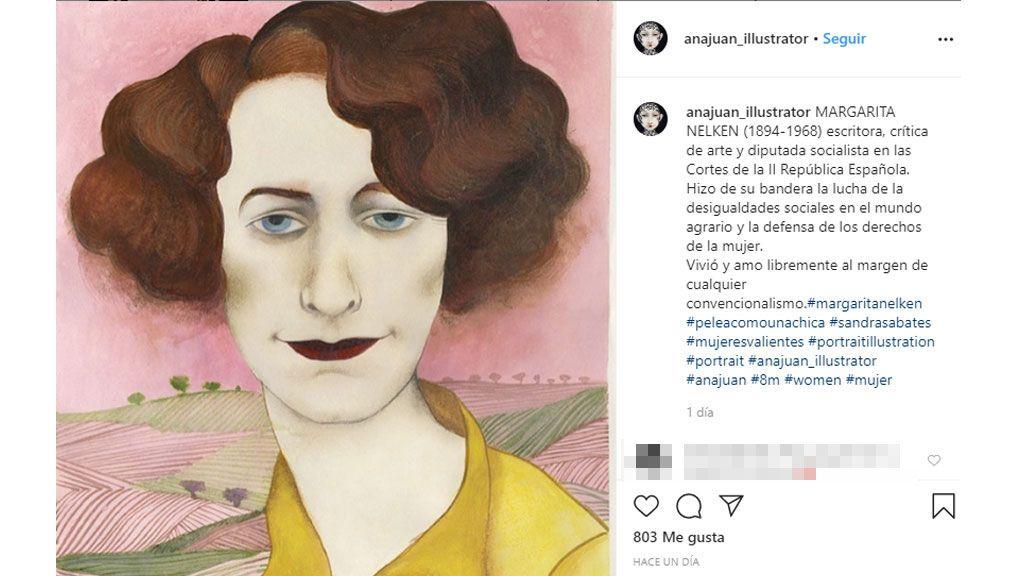 La ilustración de Ana Juan.