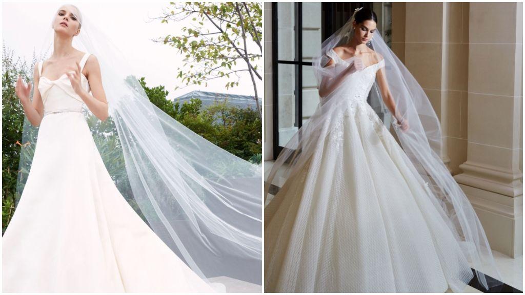 Los vestidos de Elie Saab.