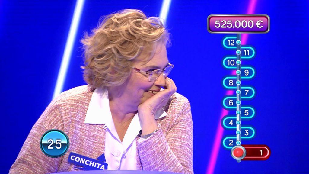 """Conchita se pone nerviosa con sus errores: """"Por favor, que termine ya"""""""