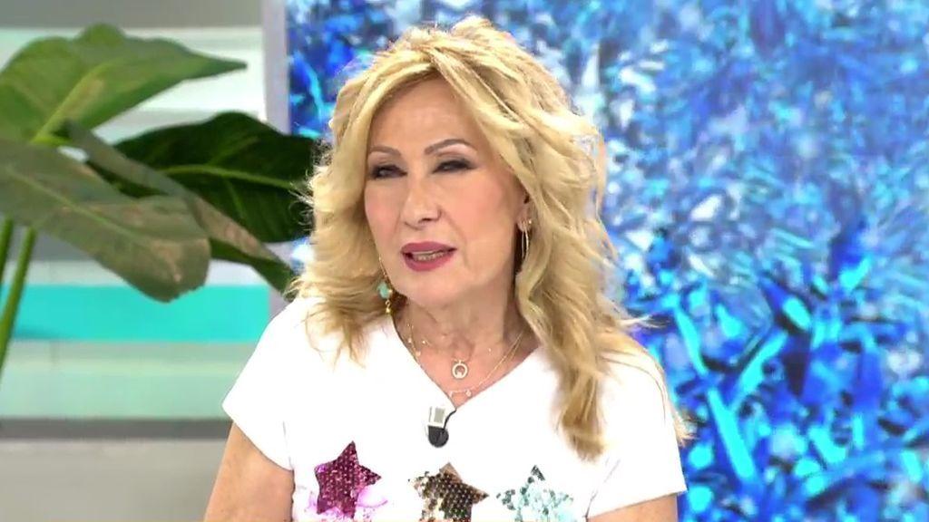 Rosa Benito explica por qué no vuelve con Amador Mohedano