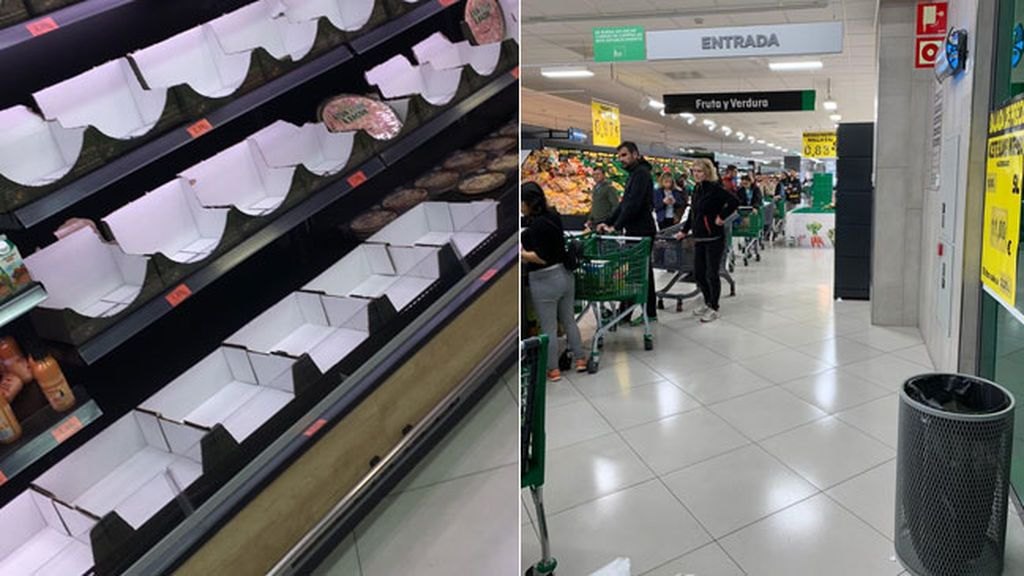 Supermercados saturados